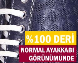 100% Deri Klasik Model Gizli Topuklu Ayakkabılar