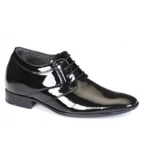 Richness R1 Siyah + 7 cm, Klasik Ayakkabı