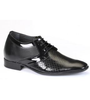 Richness R2 Siyah + 7 cm, Klasik Ayakkabı