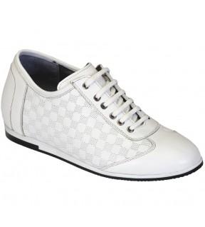 Richness C1 Beyaz + 7 cm, Casual Ayakkabı