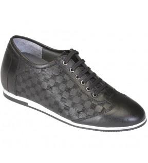 Richness C1 Siyah + 7 cm, Casual Ayakkabı