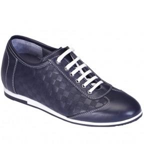 Richness C1 Lacivert + 7 cm, Casual Ayakkabı