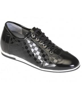Richness C2  Siyah  + 7 cm, Casual Ayakkabı