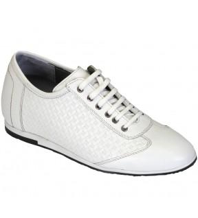 Richness F1  Beyaz + 7 cm, Casual Ayakkabı