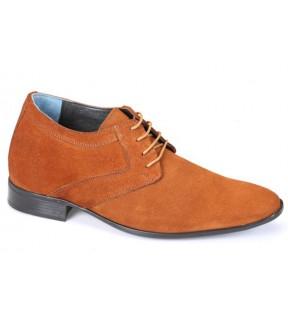 Richness S1 Taba Süet + 7 cm, Klasik Ayakkabı