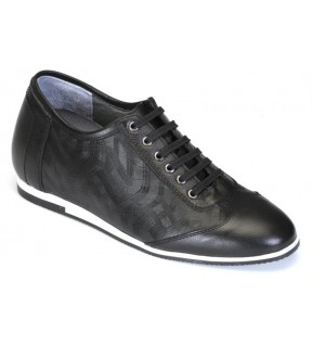 Richness Z1 Siyah + 7 cm, Casual Ayakkabı
